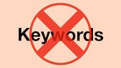 Buscar Blacklisted keywords